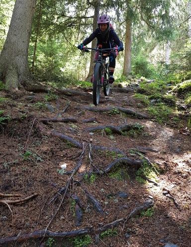 Downhill track 12 B