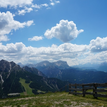 View from Kronplatz