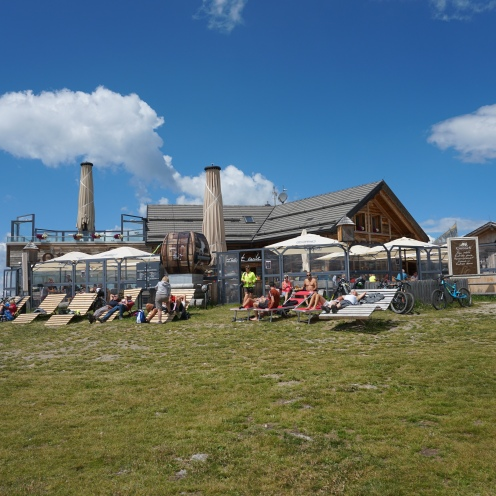 Great place for lunch on Kronplatz