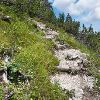 Track to Postmeister Alm