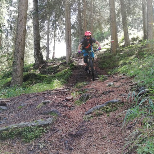 Downhill action track 12 B