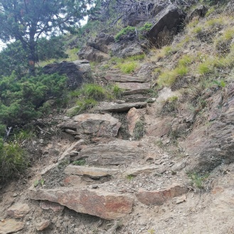 Rocky stairs again