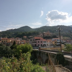 Nice villages along the uphill