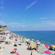 Public beach Finale Ligure