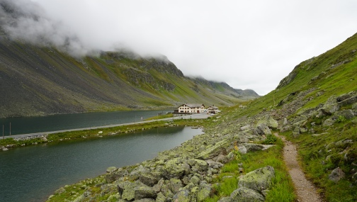 View on the pass restaurant