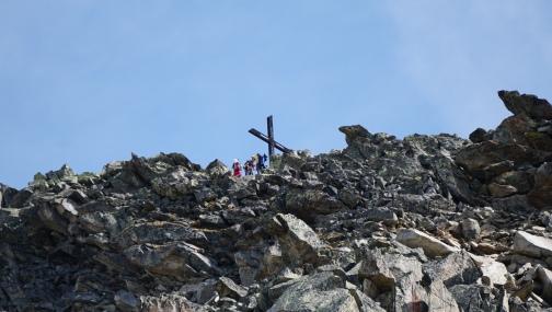 Summit cross Bettmerhorn